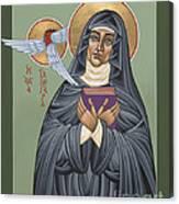 St. Hildegard Of Bingen 171 Canvas Print