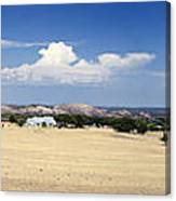Hill Country And Enchanted Rock Panorama Canvas Print