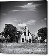 Hill Country Homestead Canvas Print