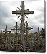 Hill Of Crosses 06. Lithuania.  Canvas Print