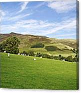 Hill Range North Of Edale Canvas Print
