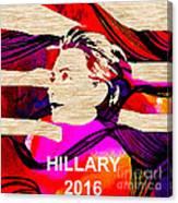 Hillary Clinton 2016 Canvas Print
