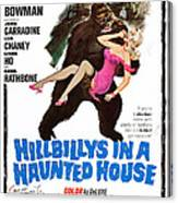 Hillbillys In A Haunted House, Bottom Canvas Print