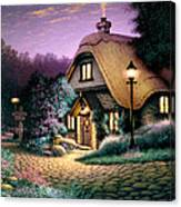 Hillcrest Cottage Canvas Print