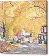 Hillside Avenue Staten Island Canvas Print