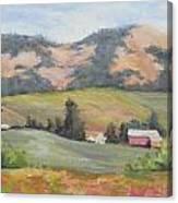 Hillside Farm Canvas Print