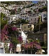 Hillside Positano Canvas Print