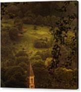 Hillside Sanctuary Canvas Print