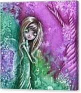 Hillside Stroll Canvas Print