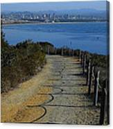 Hillside Trail Canvas Print