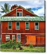 Hilo Town House Canvas Print