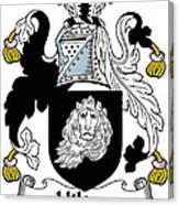 Hilton Coat Of Arms Irish Canvas Print