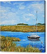 Hilton Head Mooring Canvas Print