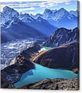 Himalaya Landscape, Gokyo Ri Canvas Print