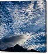 Himalayan Skies Canvas Print
