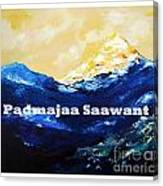 Himayala  Canvas Print