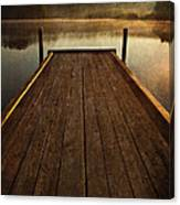 Hinckley Lake Sunrise Canvas Print
