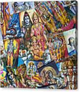 Hindu Deity Posters Canvas Print