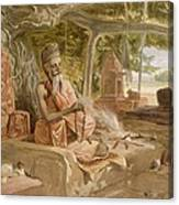 Hindu Fakir, From India Ancient Canvas Print
