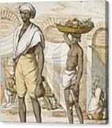Hindu Valet Or Buyer Of Food, From The Canvas Print