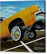 Hip Hoppin Chevy Canvas Print