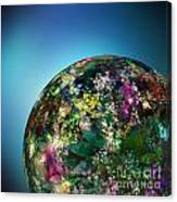 Hippies' Planet 2 Canvas Print