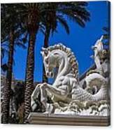 Hippocampus At Caesars Palace Canvas Print