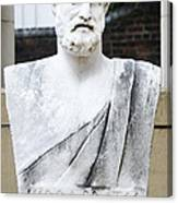 Hippocrates Statue - Vcu Campus Canvas Print