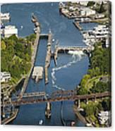 Hiram M. Chittenden  Ballard Locks Canvas Print