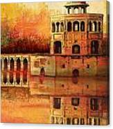 Hiran Minar Canvas Print