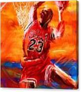 His Airness Canvas Print