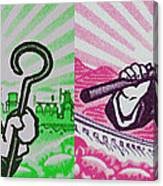 His And Hers Cultural Revolution Canvas Print