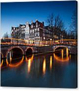 Historic Amsterdam Canvas Print