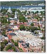 Historic Annapolis Maryland Canvas Print