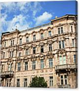 Historic Apartment House In Budapest Canvas Print