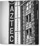 Historic Aztec Theater Canvas Print