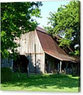 Historic Barn Canvas Print