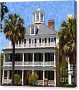 Historic Battery Home Canvas Print
