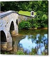 Historic Burnside Bridge Canvas Print