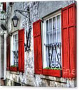 Historic Charleston Pirates House Canvas Print