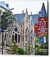 Historic Churches St. Louis Mo 1 Canvas Print