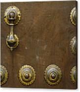 Historic Door In Granada Canvas Print