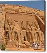 Historic Egypt Canvas Print