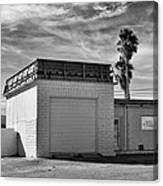 Historic Estrella Gas Station Desert Hot Springs Canvas Print