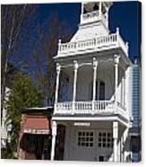 Historic Firehouse No. 1 Nevada City California Canvas Print
