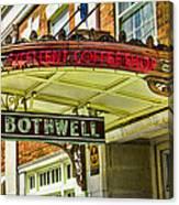 Historic Hotel Bothwell Canvas Print