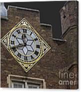 Historic London Clock Canvas Print