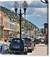 Historic Manitou Springs Canvas Print