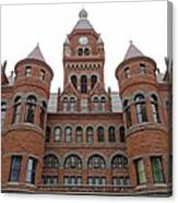 Historic Old Red Courthouse Dallas #1 Canvas Print