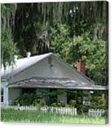 Historic Overstreet Homestead Kissimmee Florida Canvas Print